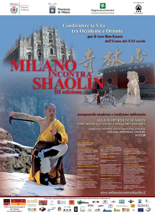 Milano Incontra Shaolin 2012