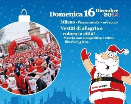 Babbo Running 2012 Milano