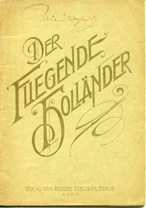 Der Fliegende Hollander Wagner