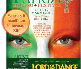 San Patrizio Festival Milano