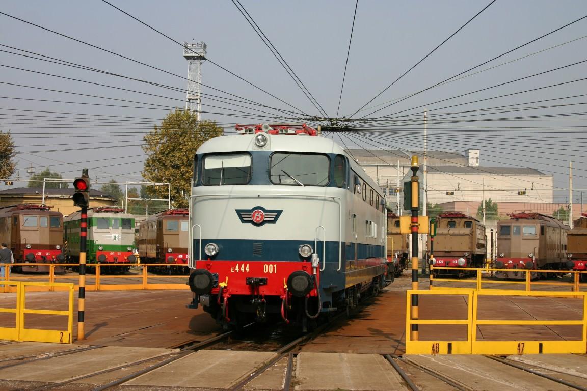 Deposito Locomotive Milano Smistamento