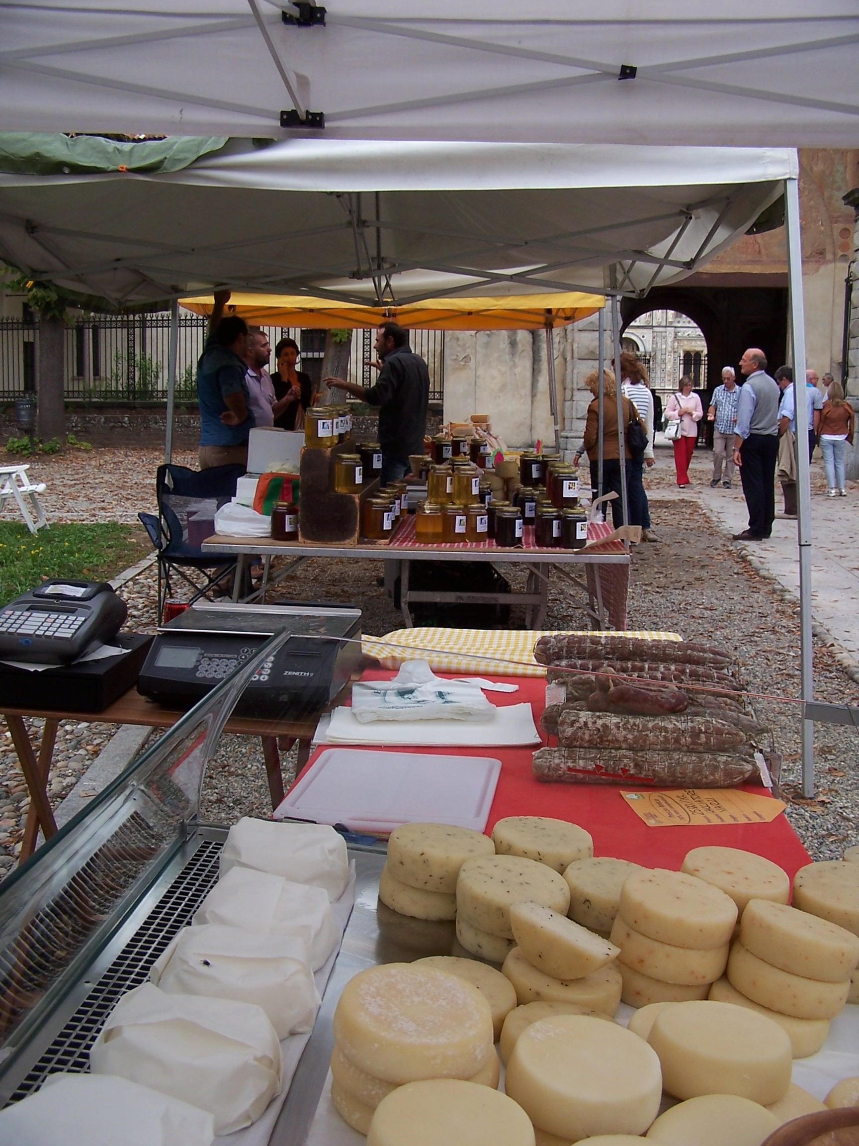Mercatino Enogastronomico Certosa di Pavia