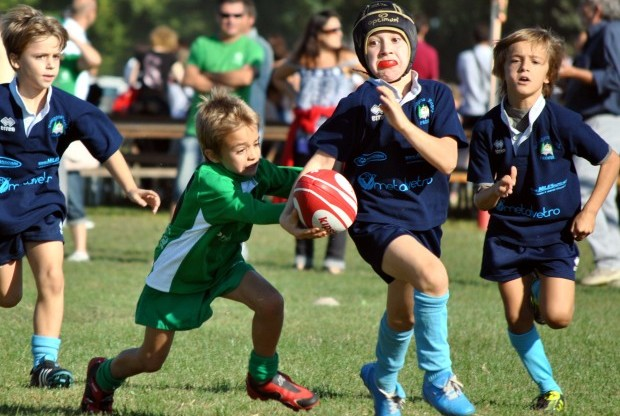 rugby nei parchi milano
