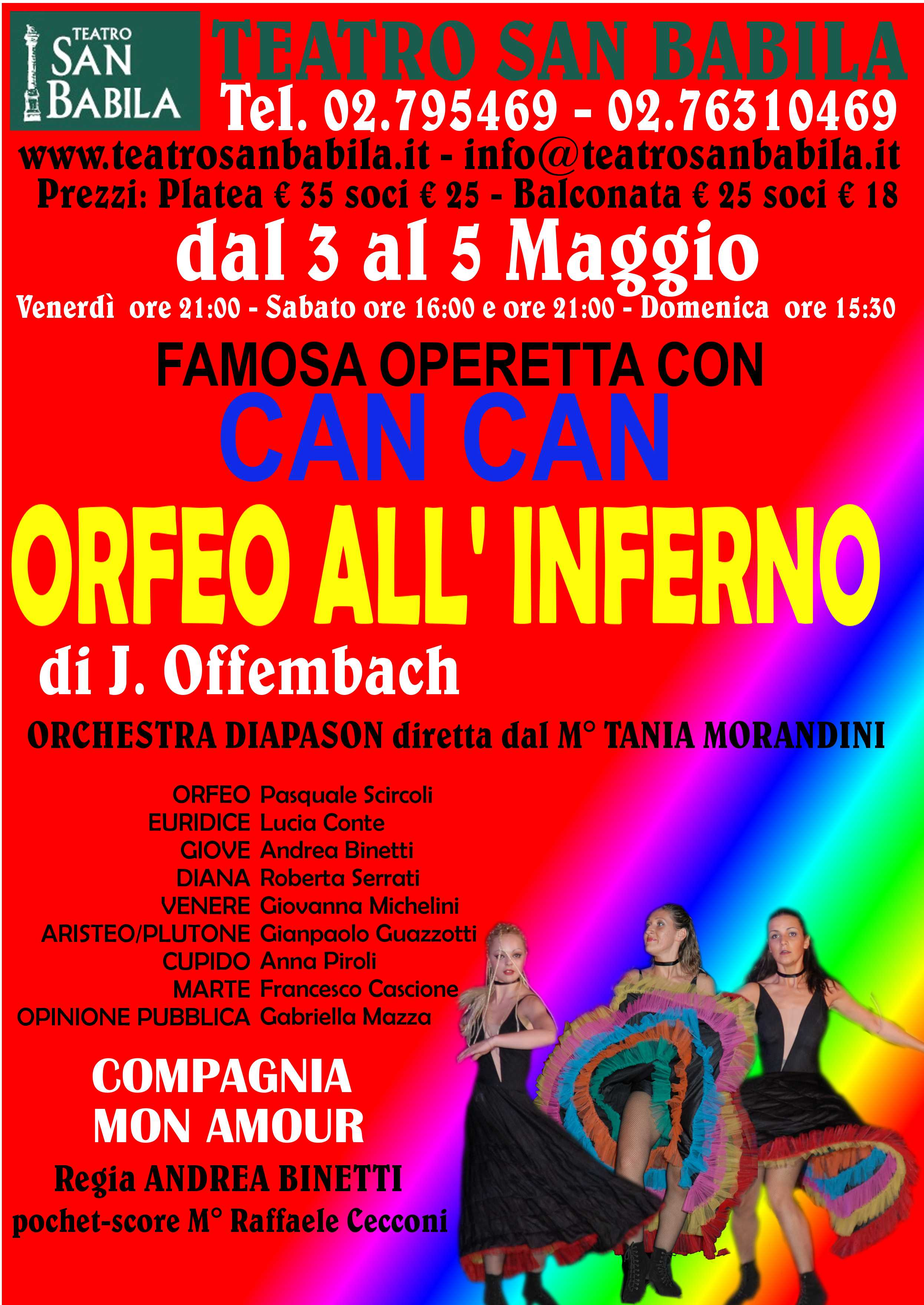 ORFEO ALL'INFERNO