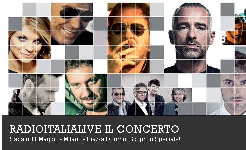 RadioItaliaLive concerto
