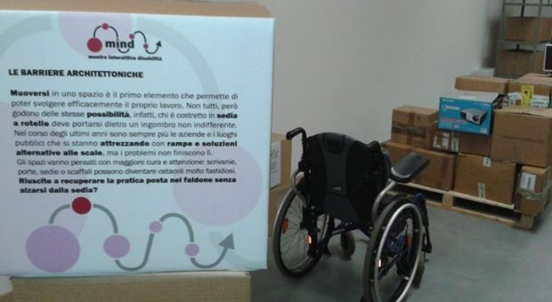 Nei panni di un disabile