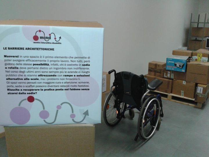 Nei panni di un disabile