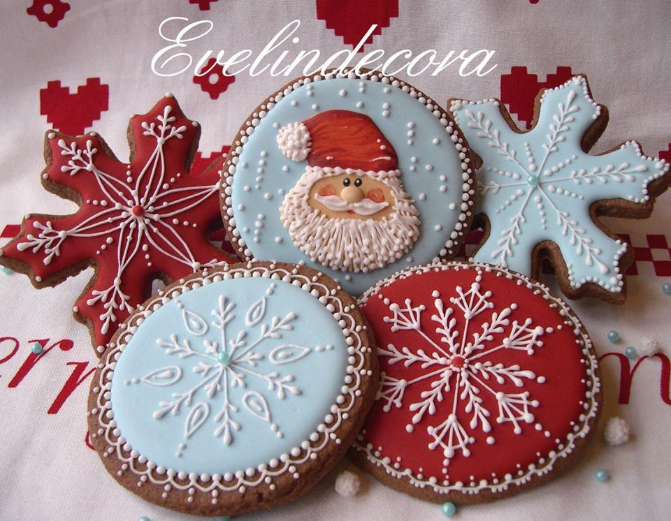 Corso di decorazione di biscotti natalizi con ghiaccia - Decorazioni torte con glassa ...