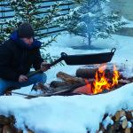 Innsbruck Natale fuoco