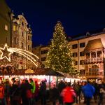 Innsbruck Natale albero