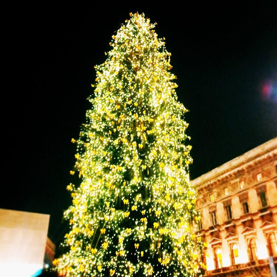 Albero Di Natale Milano.Albero Di Natale In Piazza Duomo L Accensione Il 5 Dicembre