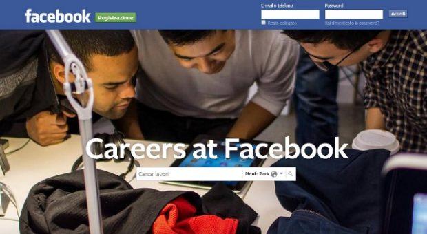 lavoro facebook
