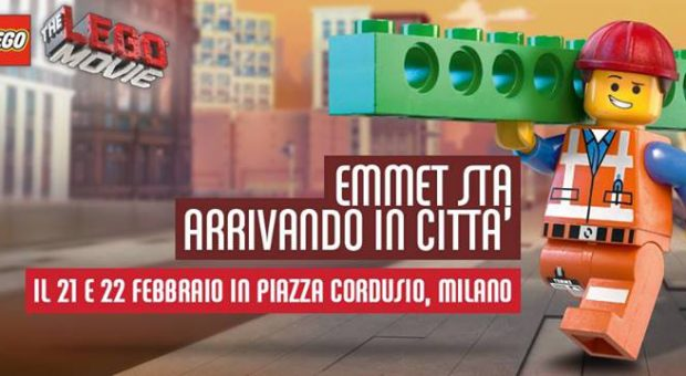 emmet lego movie milano