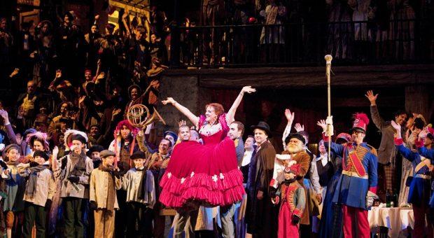 La Boheme - Susanna Phillips as Musetta, photo by Cory Weaver