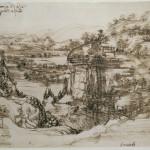 24. Leonardo da Vinci Studio di paesaggio_1