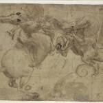 308. Leonardo da Vinci Lotta col dragone_1