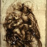 52. Leonardo da Vinci Studio per Madonna del gatto_1