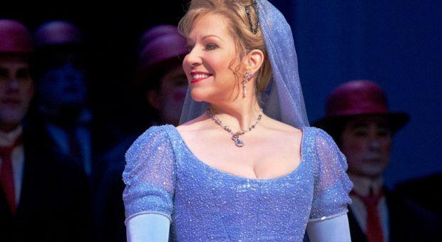 A scene from Rossini's La Cenerentola with Joyce DiDonato (center) as Angelina. Photo Ken Howard Metropolitan Opera (2)