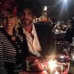 Foto fabrizio bellavista cena chapeau milano