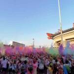 8 Photo Daniele Montigiani / LaPresse6-9-2014 Milan (Italy) The Color Run Milan