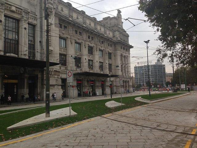 terminato il restyling di piazza iv novembre milano weekend
