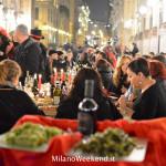 Cena in nero Galleria Milano 2014-10