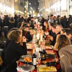 Cena in nero Galleria Milano 2014-13