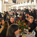 Cena in nero Galleria Milano 2014-14