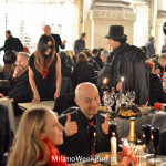 Cena in nero Galleria Milano 2014-15
