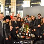 Cena in nero Galleria Milano 2014-17