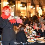 Cena in nero Galleria Milano 2014-18