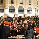 Cena in nero Galleria Milano 2014-20