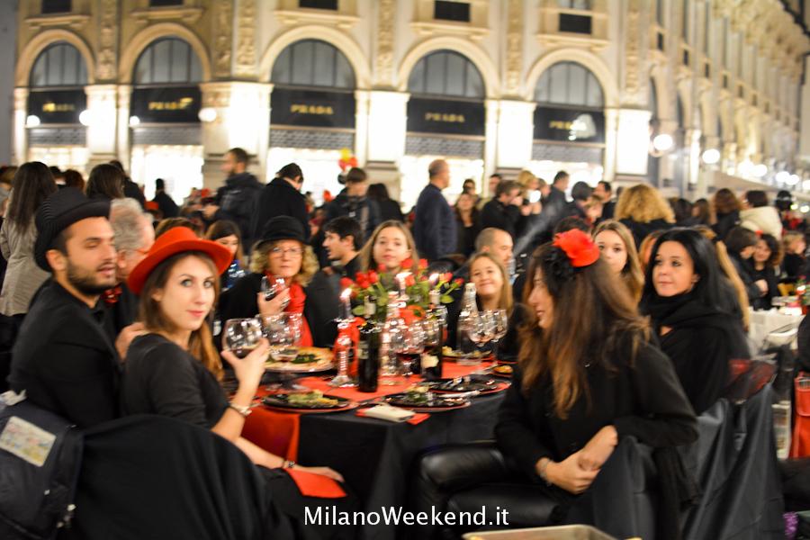Cena in nero Galleria Milano 2014-22