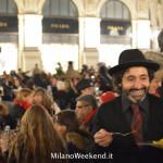 Cena in nero Galleria Milano 2014-24