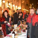 Cena in nero Galleria Milano 2014-4