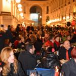 Cena in nero Galleria Milano 2014-5