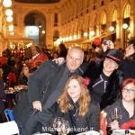 Cena in nero Galleria Milano 2014-7