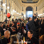 Cena in nero Galleria Milano 2014-8