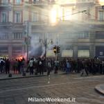 Disagi tifosi St Etienne Milano 2014