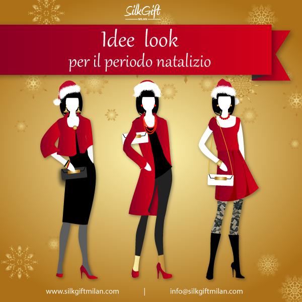 Look di Natale Silk Gift Milan