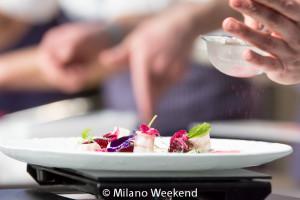 Enrico Crippa show cooking Identità Golose 2015-10