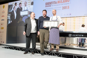 Enrico Crippa show cooking Identità Golose 2015-11