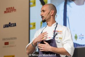 Enrico Crippa show cooking Identità Golose 2015-3