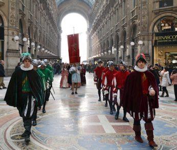 corteo medievale milano