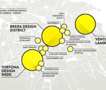 mappa fuorisalone 2015