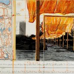 Christo The gates, project for Central Park, NYC, 2001