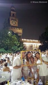 Cena in bianco Piazza Castello Milano 2015 LG