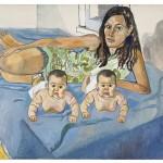 Alice Neel, Nancy and the twins [Nancy e le gemelle]