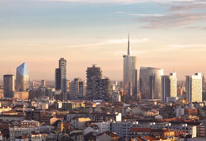 Grattacieli di milano visita guidata gratis al quartiere for I nuovi grattacieli di milano