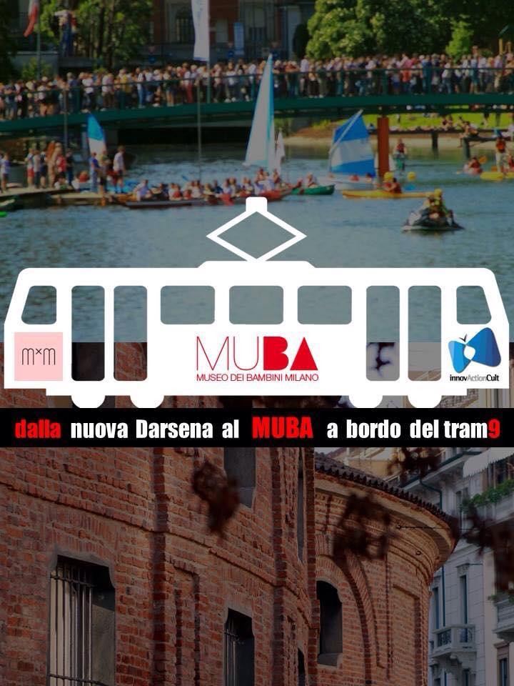 Muba Darsena innovActionCult tour di Milano per bambini